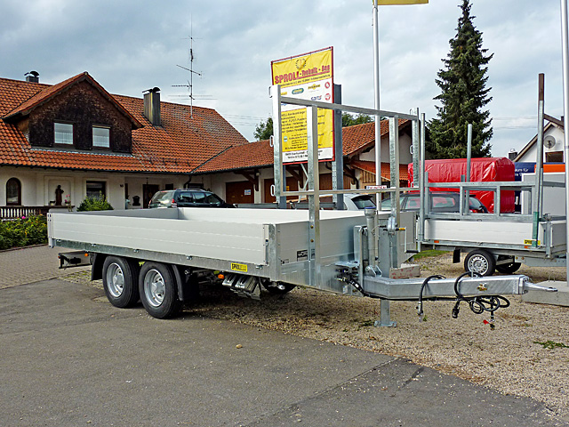 lkwanhänger » sproll anhängerfahrzeuge  bautechnikzentrum